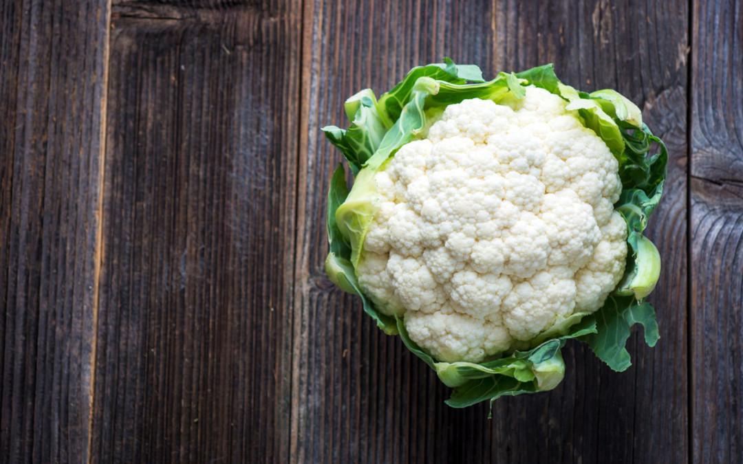 Garlic Truffle Roasted Cauliflower and Asparagus