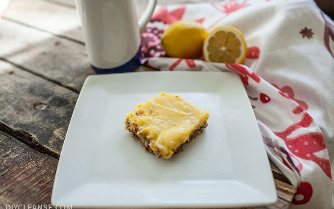 Grain Free Lemon Bars