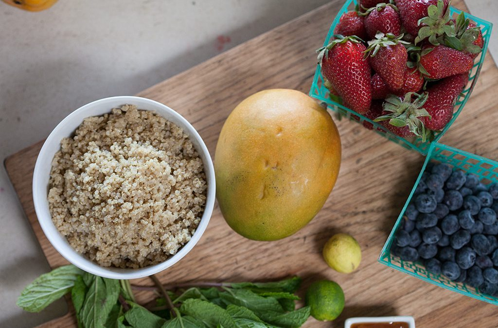 Strawberry Quinoa Breakfast