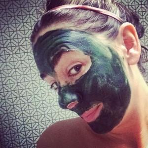 spirulina mask | DIY Cleanse