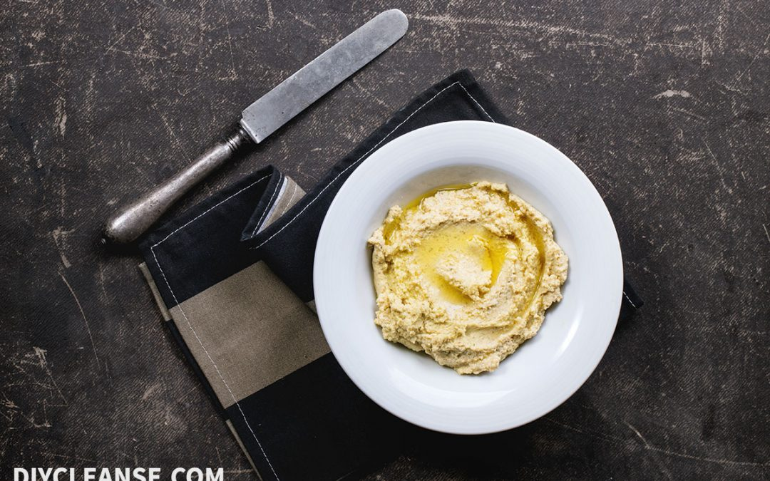 Homemade Almond Hummus you MUST try…