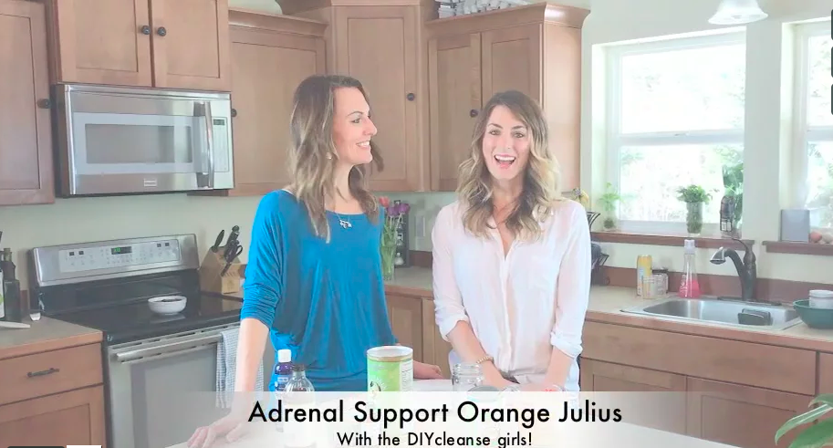 Adrenal Support Orange Julius Cocktail!